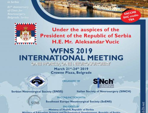 WFNS Pre-Meeting Course: Global Neuro Seminar – Neurotrauma March 21, 2019 I Belgrade, Serbia