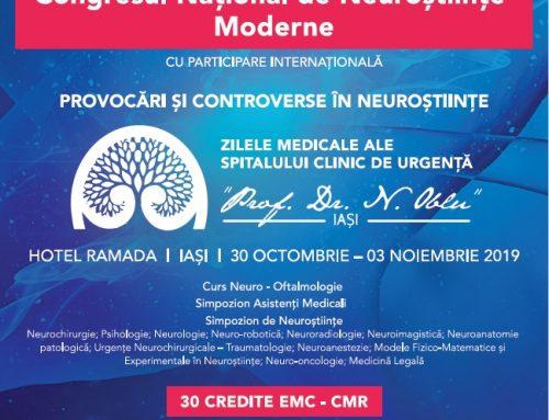 Congresul Național de Neuroștiințe Moderne – Provocări și Controverse în Neuroștiințe