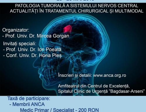 Curs Educație Medicală Continuă – 23-25 Mai 2019, București