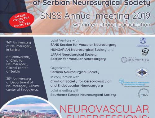 5TH ANNUAL SNSS MEETING- Kragujevac, Serbia, October 24th-27th, 2019