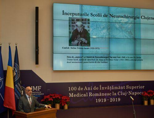 70 de ani de Neurochirurgie la Cluj marcați în cadru festiv!