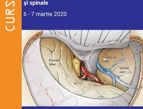 Curs EMC – Abordarea multidisciplinară a meningioamelor intracraniene și spinale | 6-7 martie, 2020