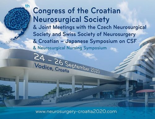 Congress of the Croatian Neurosurgical Society & Joint Meetings with the Czech Neurosurgical Society and Swiss Society of Neurosurgery & Croatian – Japanese Symposium on CSF & Neurosurgical Nursing Symposium – 24-26 September, 2020 – Vodice, Croatia