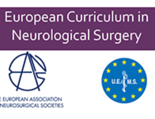 European Curriculum in Neurological Surgery